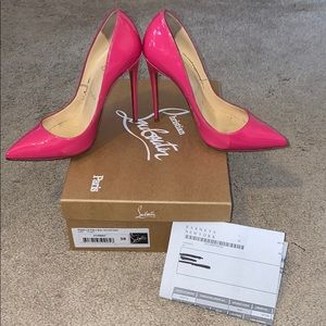 Pigalle Follies 120mm Patent Leather Pump